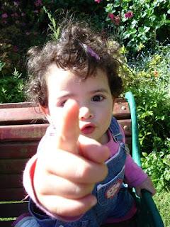 El dedo Acusador