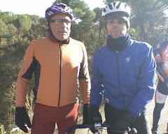 Juan Carlos con Javier Mínguez