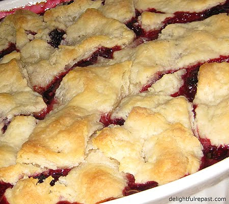 blackberry cobbler the way i make it is like blackberry pie only much ...