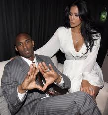 Kobe and Wife