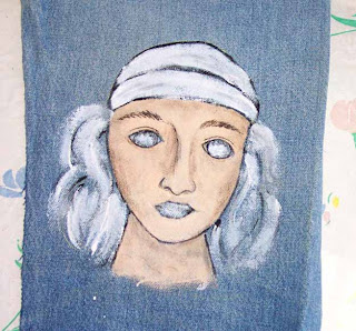 face paint denim