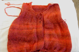 sweater knit knitting
