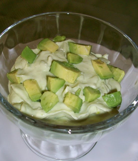 Avocado Dessert Recipe From an avocado dessert i