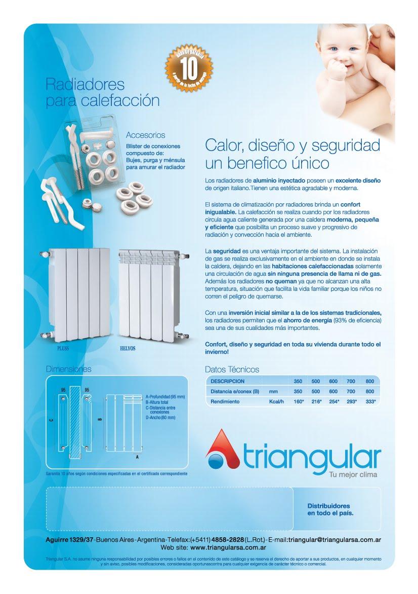 Tecno ambiente radiadores para calefacci n - Radiadores para calefaccion ...