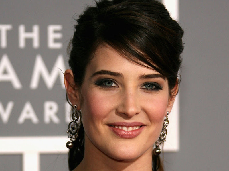 Cobie Smulders in different hairstyles title=