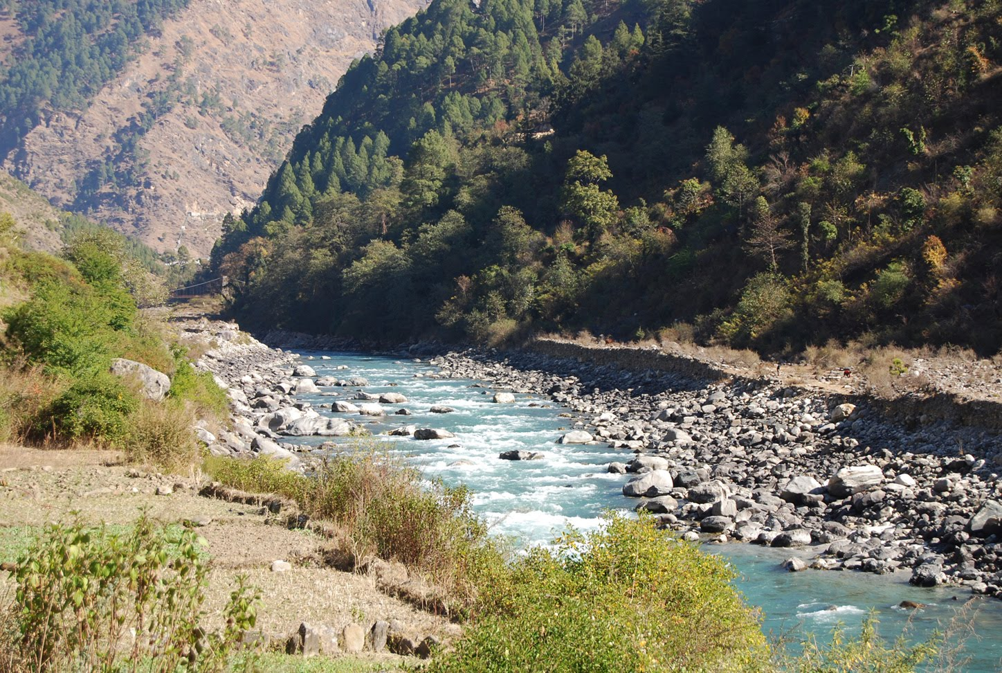Uttarkashi India  city images : Villages and towns of Uttaranchal: Uttaranchal Town Uttarkashi