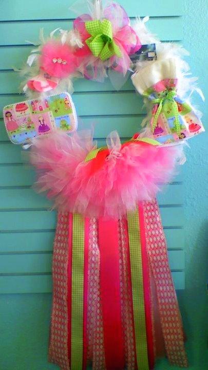 Hospital Door Hangers For Baby! Baby Door Wreaths