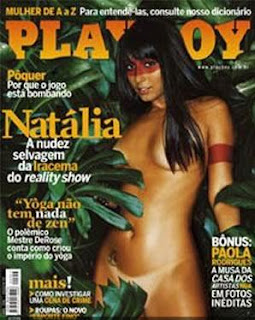 Natalia Nara capa Playboy