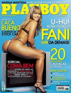 Fani Pacheco pelada Playboy