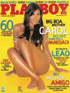 Playboy Carol Honório