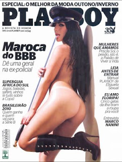 Playboy AnaMara pelada