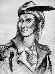 El jefe Shawnee Tecumseh lanzó la maldición en 1813