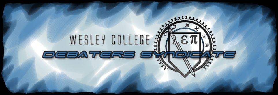 Wesley College Debater's Syndicate