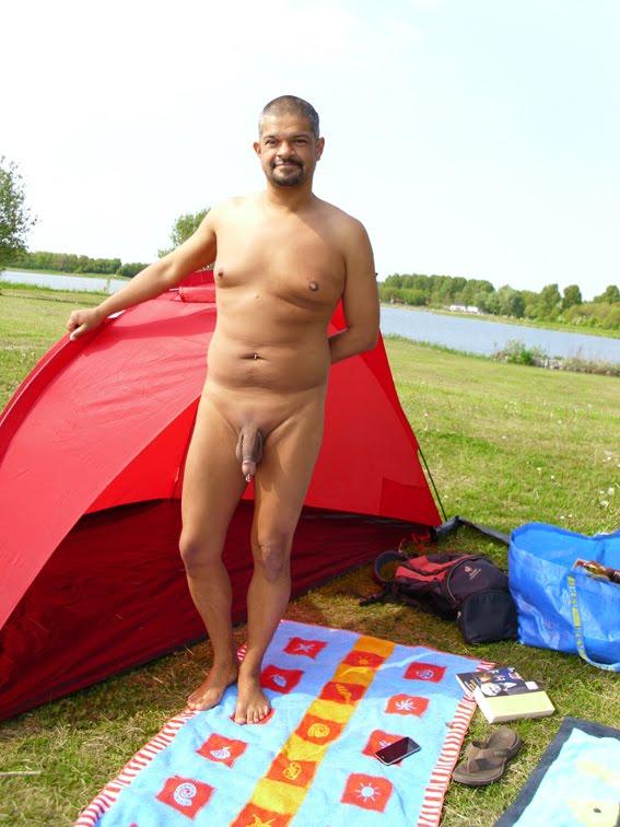 Dutch nudist beach