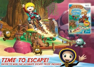 Escape from Adventure Island for Wii.Have you Entered to WIN