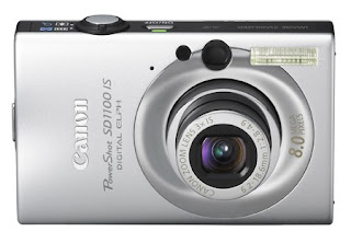 Canon SD1100 digital camera