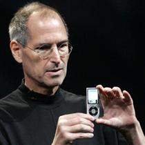 steve job unveils latest ipod nano
