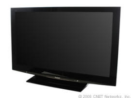 Panasonic TH-58PZ800U plasma TV with THX