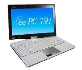asus eee pc t91 touchscreen swivel