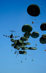 airdrop of humanitarian aid