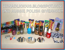 Konad-licious 2nd HUGE AUSSIE Giveaway!