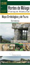 Mapa Ornitológico y de Fauna del PN Montes de Málaga