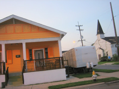 house, trailer, church