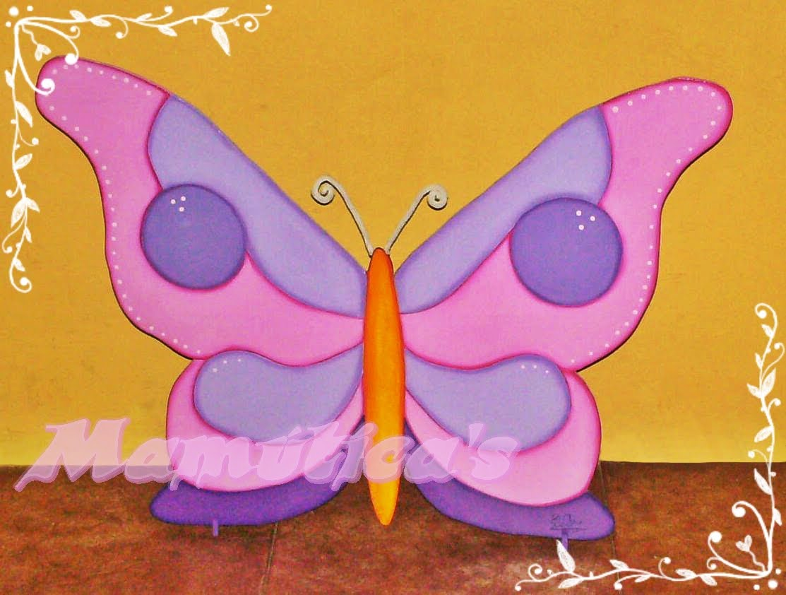 Mamutica's: Primavera ... flores y mariposa