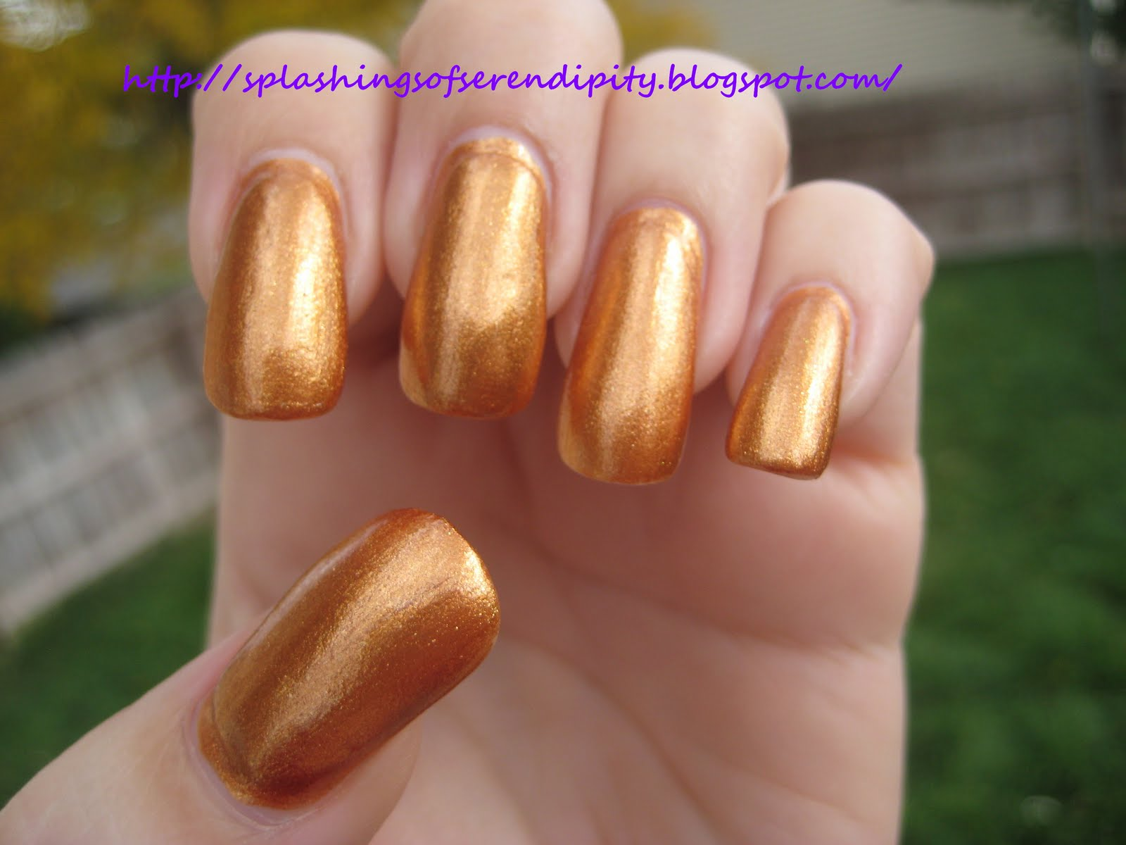 A Splash Of Serendipity OPI Rising Star