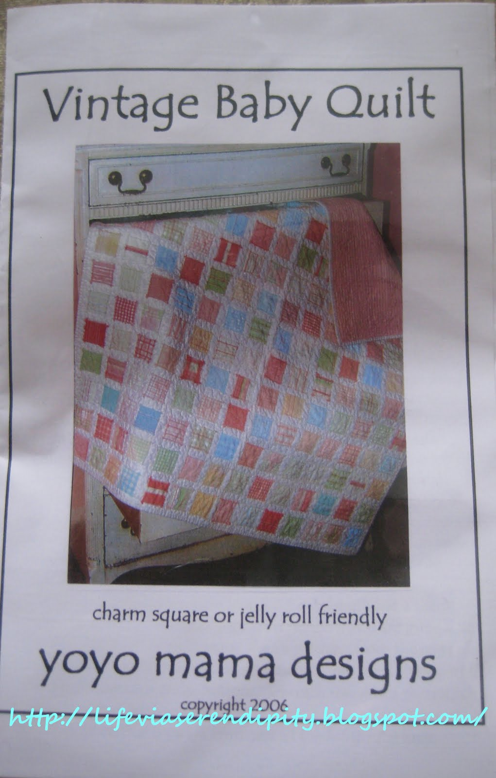 Vintage Baby Quilt Patterns Yo Yo Mama 58