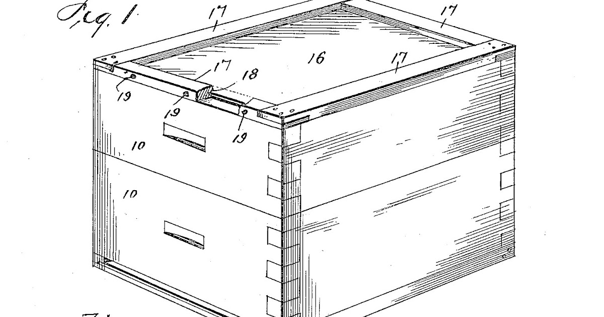 Bakes access plans to build a langstroth beehive for Beehive plans blueprints
