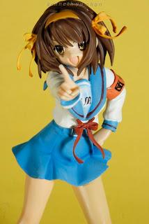 haruhi, haruhi suzumiya, pvc figure