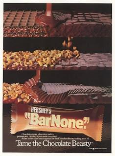 barnone chocolate bar, hershey's barnone
