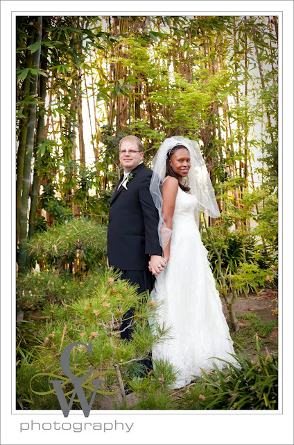Earl Burns Japanese Garden Wedding