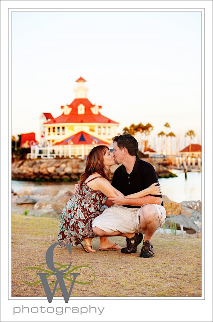 Engagement Portrait, Long Beach