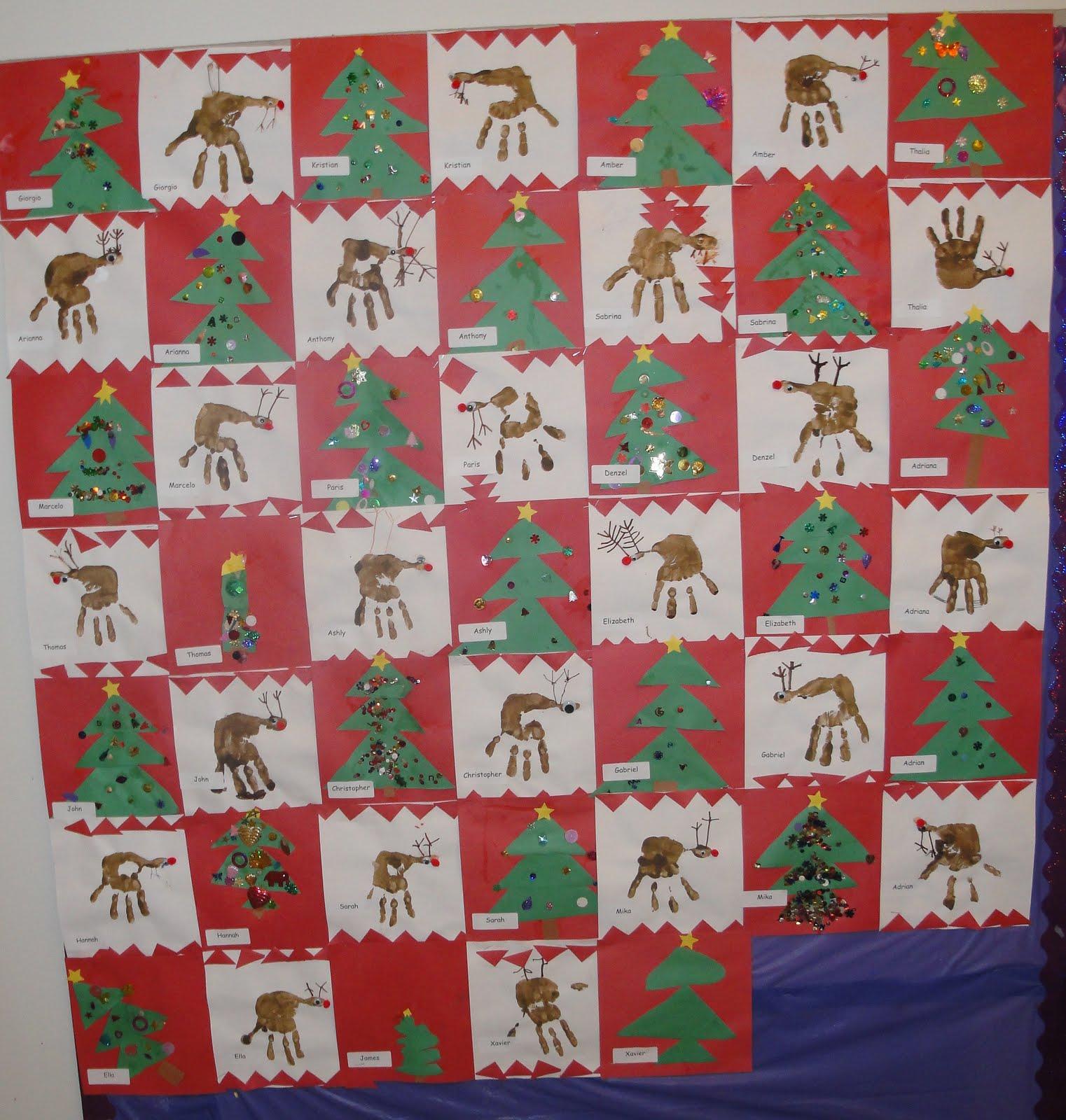 Quilt Patterns For Kindergarten : Mrs.Burns Kindergarten: Christmas Quilt