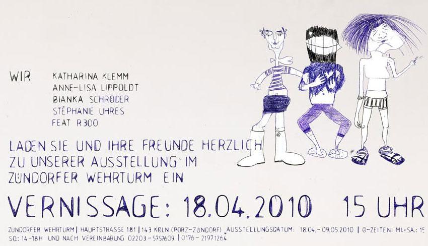 fräulein julia: 04/01/2010 - 05/01/2010, Einladung