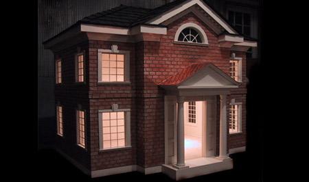 celebrity brick estate dog house - Beautiful Dog Houses