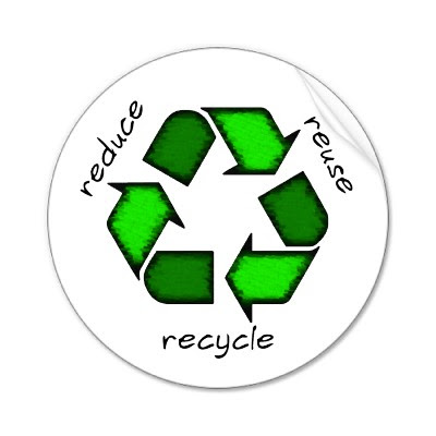 reduce recycle reuse. to recycle (especially the