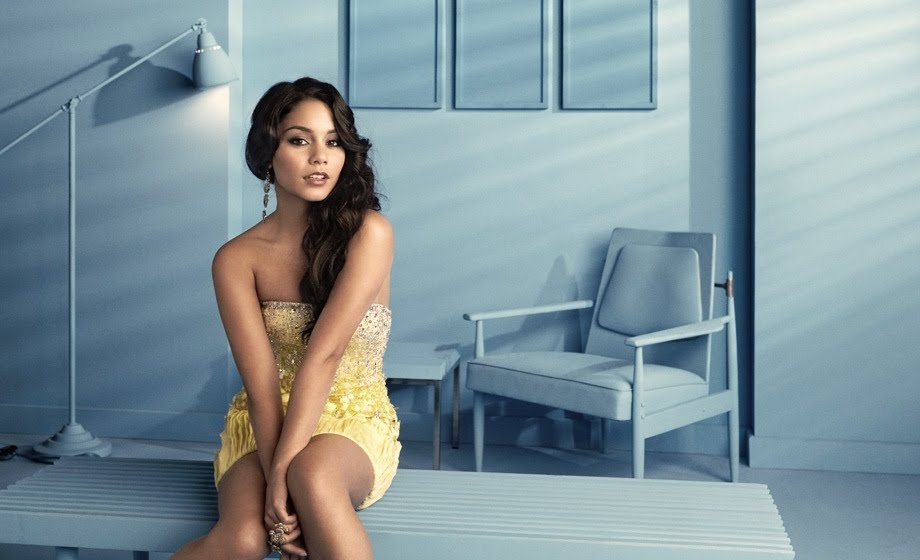 Vanessa Hudgens' new photoshoot for Glamour Magazine June 2010 with Beastly