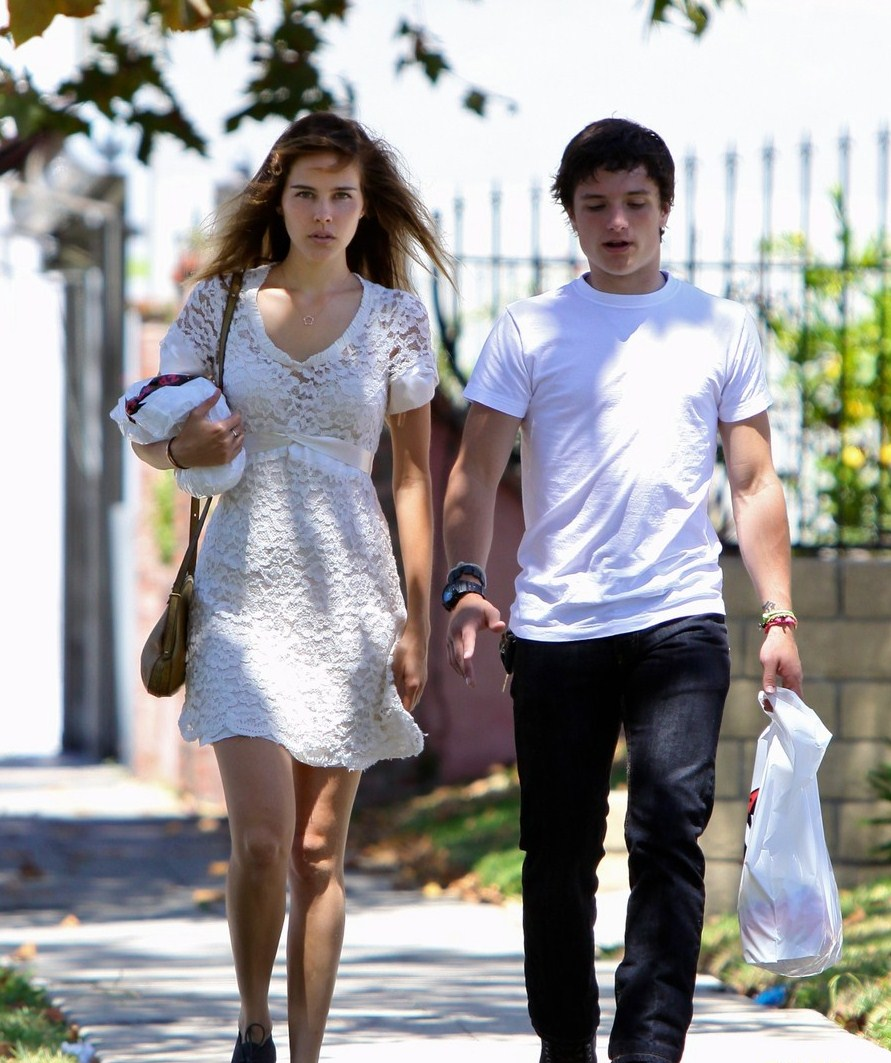 josh hutcherson: blu jam with isabel lucas!