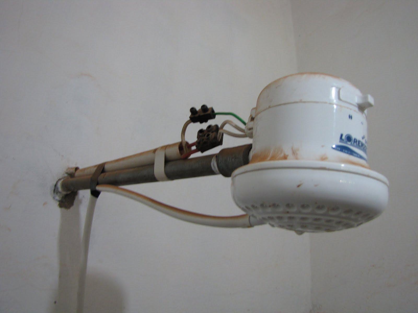 Mon ann e en am rique du sud la douche lectrique - Epilateur electrique sous la douche ...