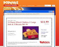 Pop Eyes Chicken & Biscuits