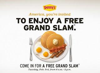 Denny's Grand Slam