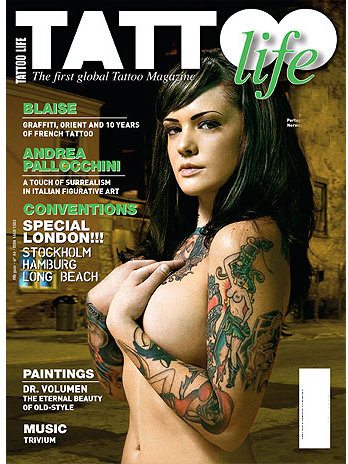 Tattoo Life Magazine August 2008. Tattoo flash magazine pictures search