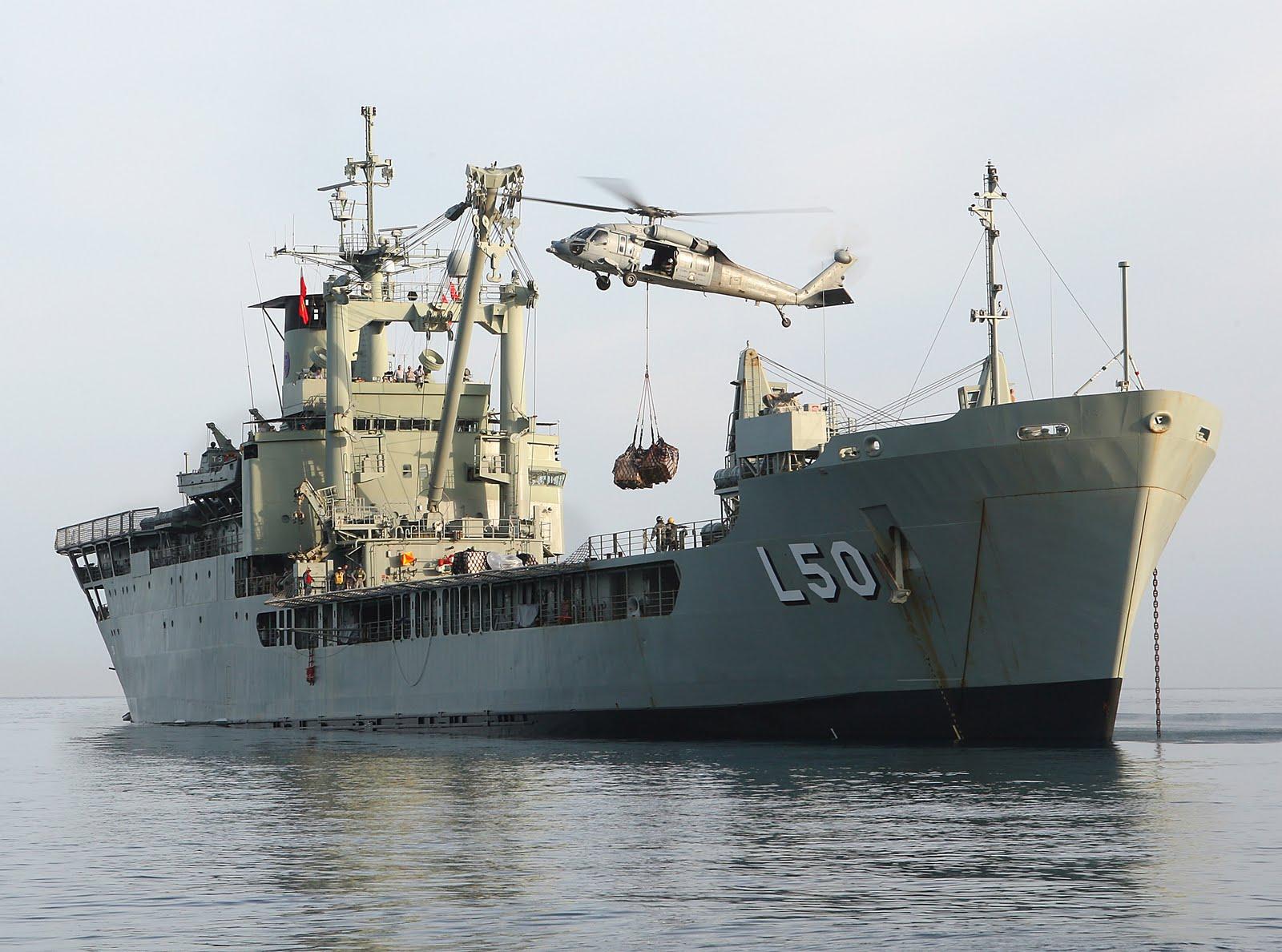 HMAS Tobruk. (Foto: Australia DoD)