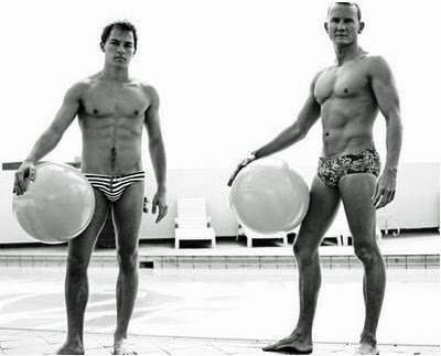 sexy men in speedos and sungas