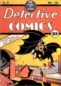 Detective Comics #27 feature Batman