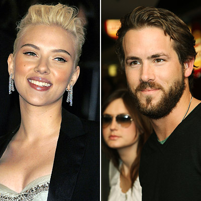 Scarlett Johansson engaged Ryan Reynolds