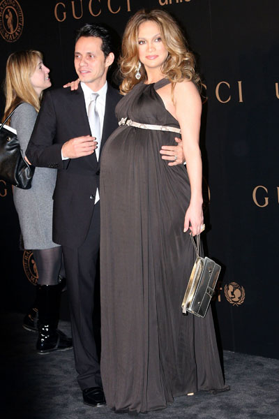 pregnant jennifer lopz with cash warren